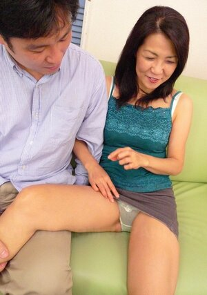 During sex party Japanese Eager mom finds quiet spot to finger own hairy peach