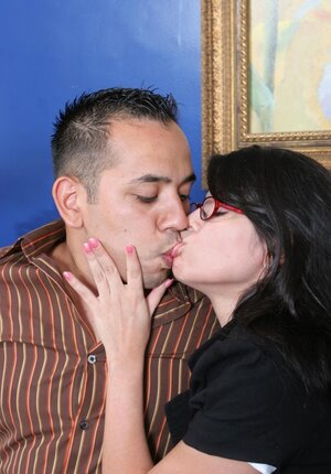 Therapist with delicious melons seduces client's husband instead of helping them